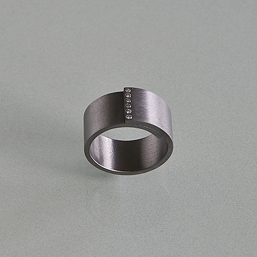 Ringe, Tantal, Brillanten
